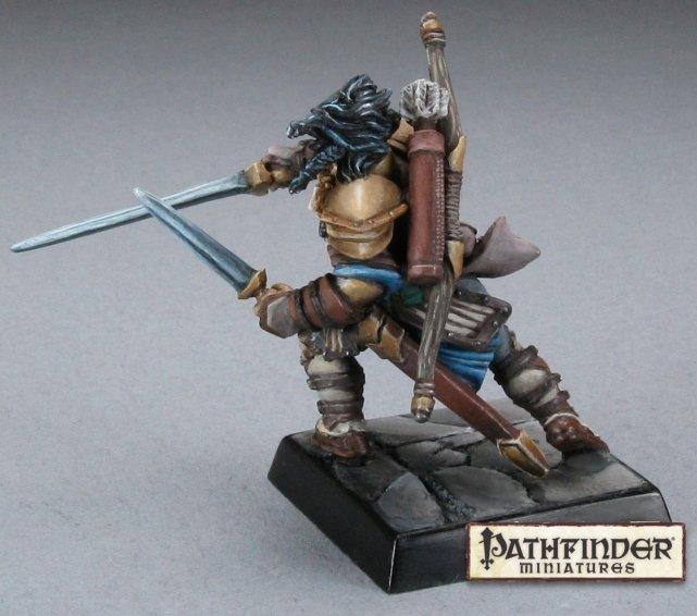 Reaper Miniatures 60015 Pathfinder Metal Miniature Kyra Female Iconic Cleric
