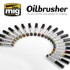 Mig Ammo Oilbrushers